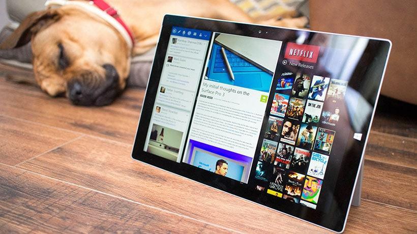 Màn hình Surface Pro 4 sắc nét đến tột đỉnh, đem lại những trải nghiệm sống động nhất