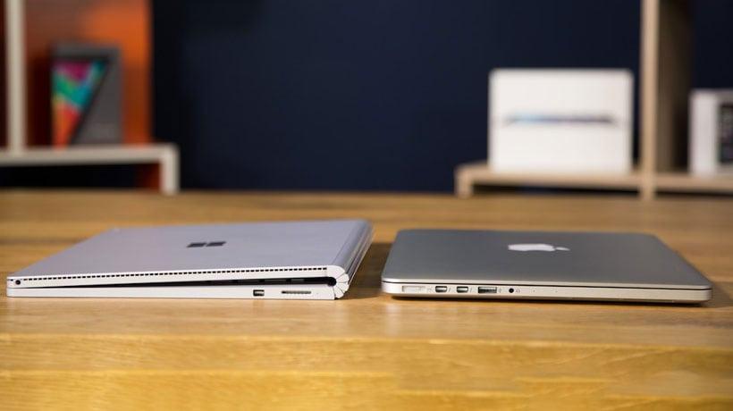 Surface Book vs Mac