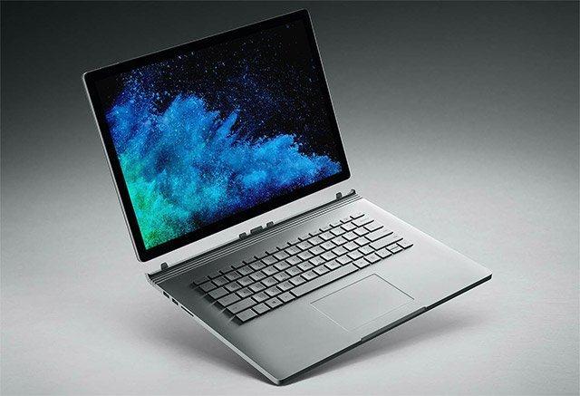 Màn hình Surface Book lên đến 3000×2000.