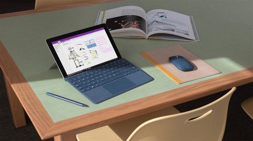 Surface Go máy tính linh hoạt giữa Laptop và máy tính bảng