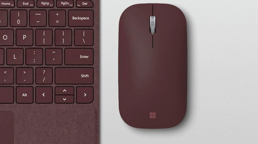 Bàn phím và chuột của Surface Go