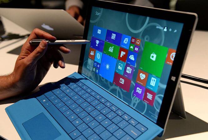 Surface Pen và bàn phím của dòng Surface