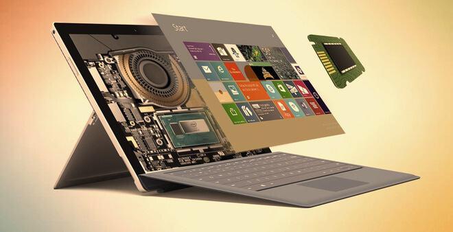 Bộ xử lý 4 lõi của Surface Pro 6