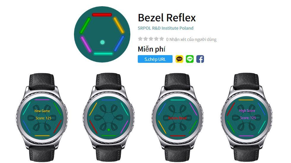 App Galaxy Watch – Bezel Reflex