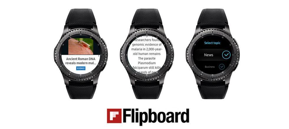 App Galaxy Watch - Flipboard