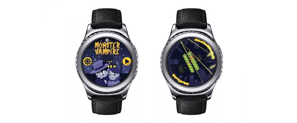 App Galaxy Watch - Monster Vampire
