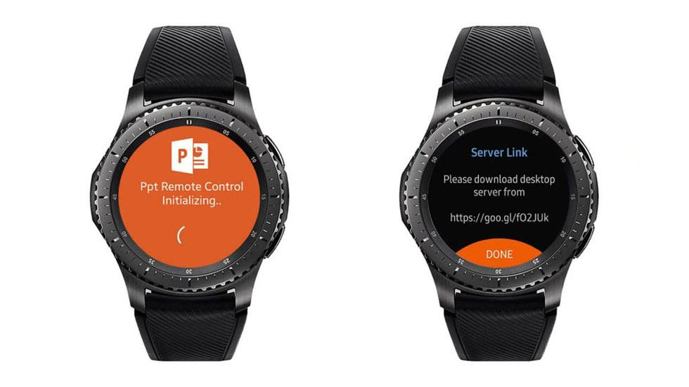 App Galaxy Watch - PPT Controller