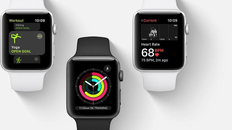Apple Watch Series 3:Ứng dụng hỗ trợ cuộc sống