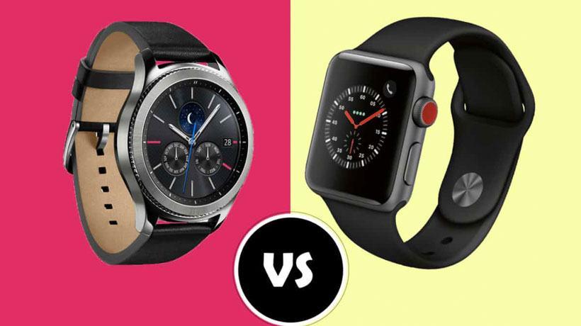 Apple Watch Series 3 và Samsung Gear S3