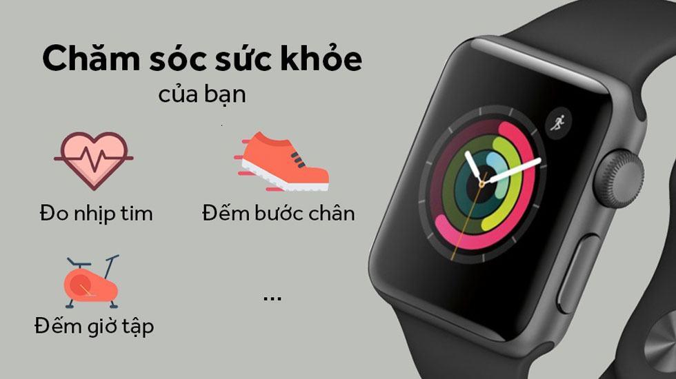 Apple Watch Series 3 giúp chăm sóc sức khỏe