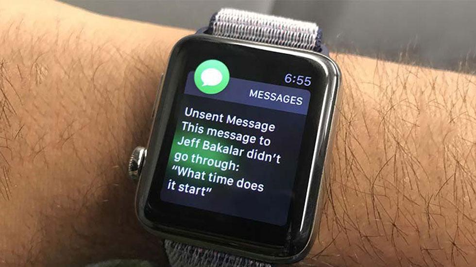 Apple Watch không gữi được tin nhắn