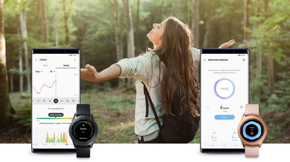 Cách sử dụng Samsung Health trên Galaxy Watch