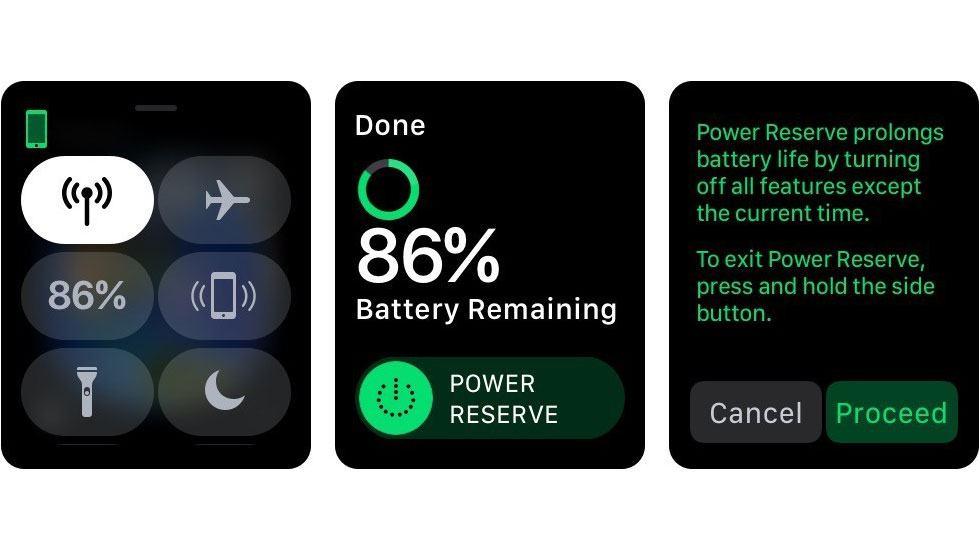 Chức năng Tiết kiệm Pin của dòng Apple Watch