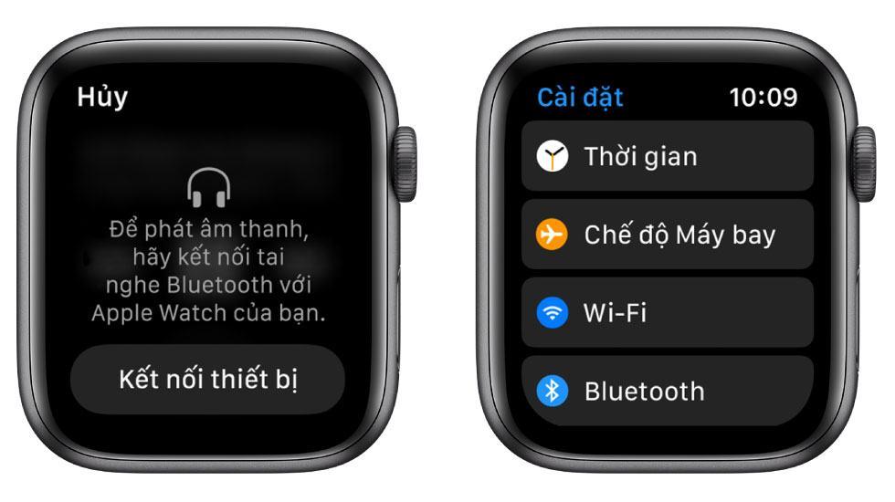Tính năng kết nối Bluetooth với iPhone của Apple Watch