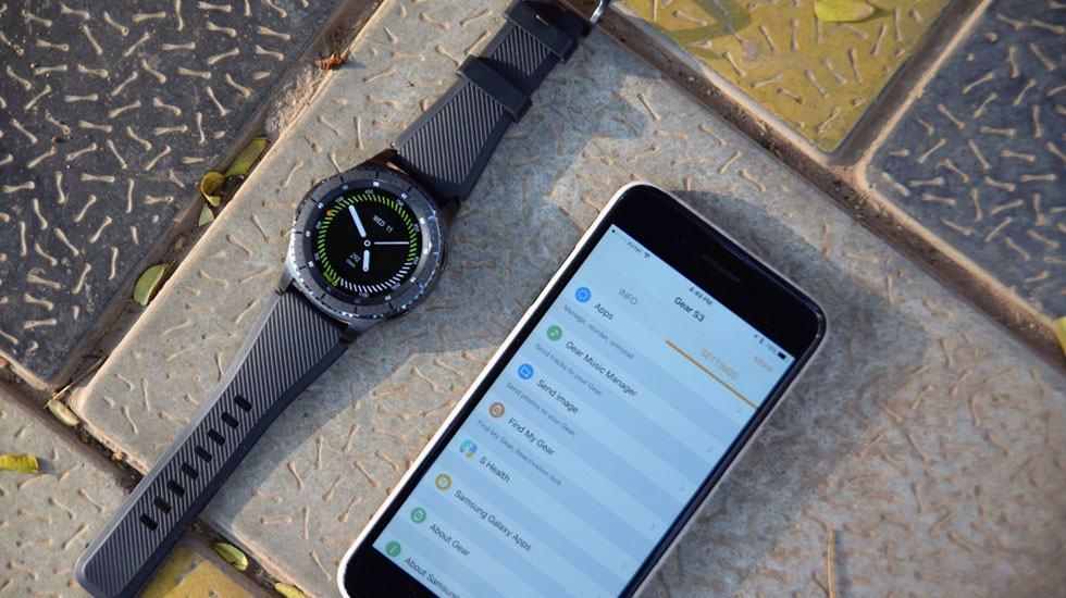 Samsung Galaxy Watch có kết nối Iphone được không?