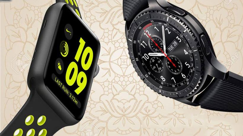 Phần cứng của Samsung Gear S3 và Apple Watch Series 3