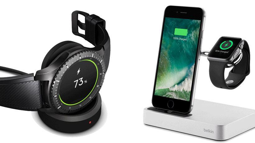 Thời lượng pin của Samsung Gear S3 và Apple Watch Series 3