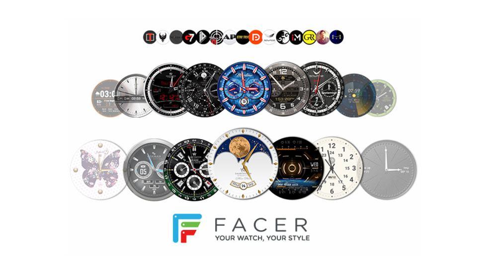 Ứng dụng Facer trên Galaxy Watch