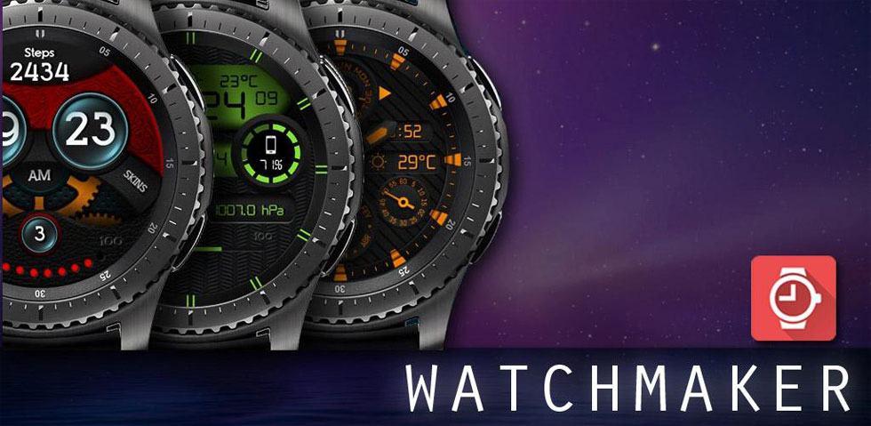 Ứng dụng WatchMaker trên Galaxy Watch