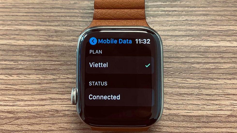 Apple Watch 3 LTE sử dụng eSim