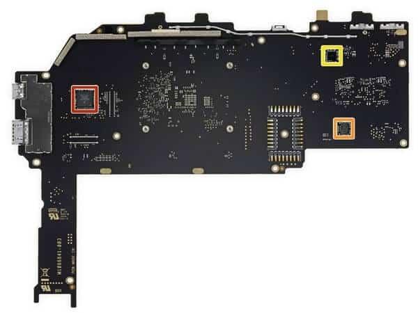 Tháo rời các bộ phận của Surface Pro 6 25