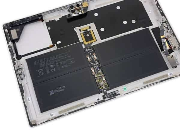 Tháo rời các bộ phận của Surface Pro 6 27