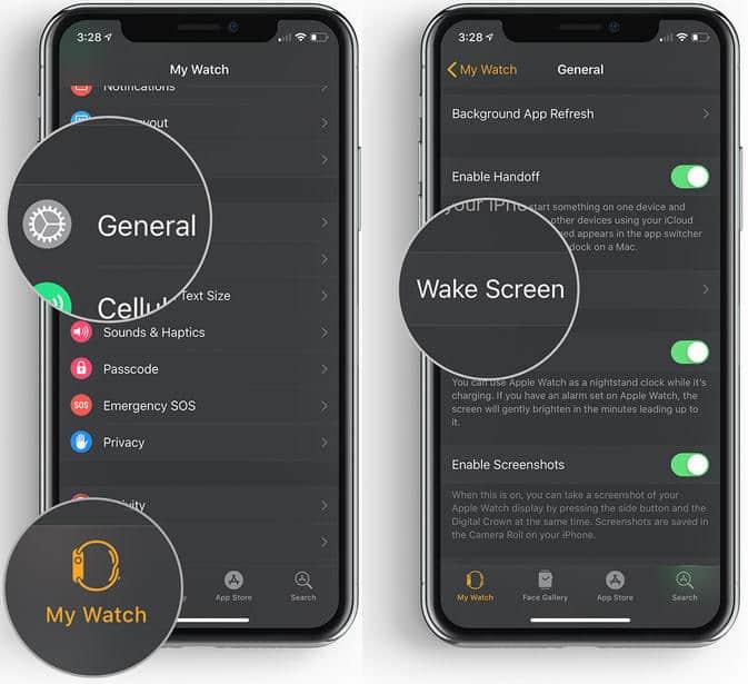 Apple Watch Screen