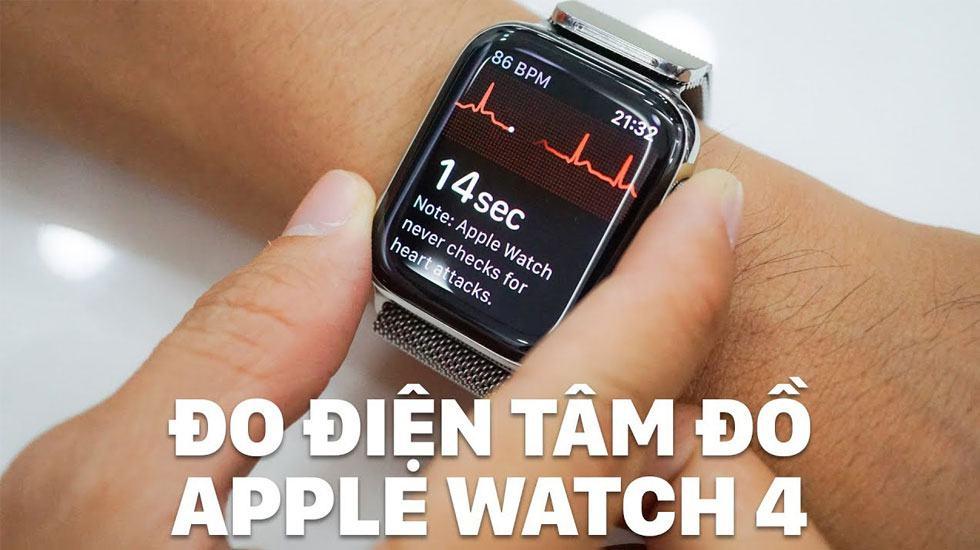 Cách kích hoạt ECG trên Apple Watch Series 4