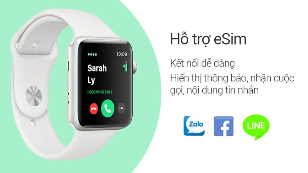 Đánh giá Apple Watch Series 3 chi tiết