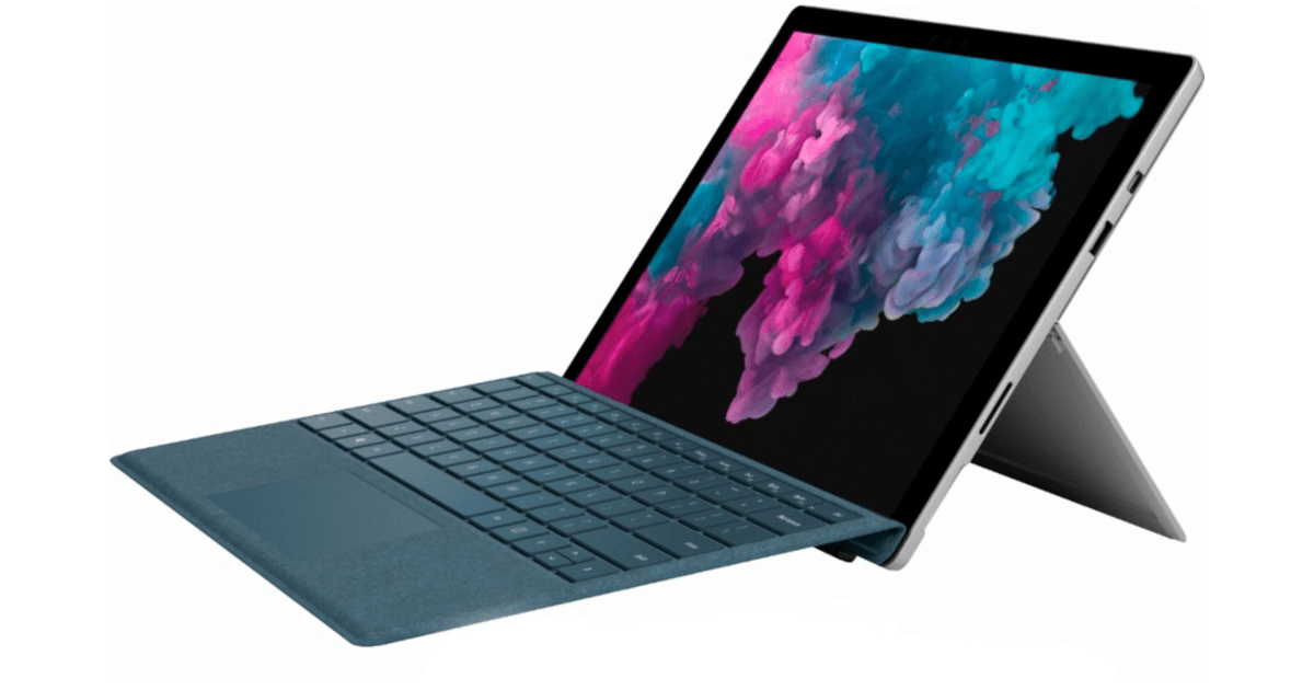 Surface pro 6 2 in 1