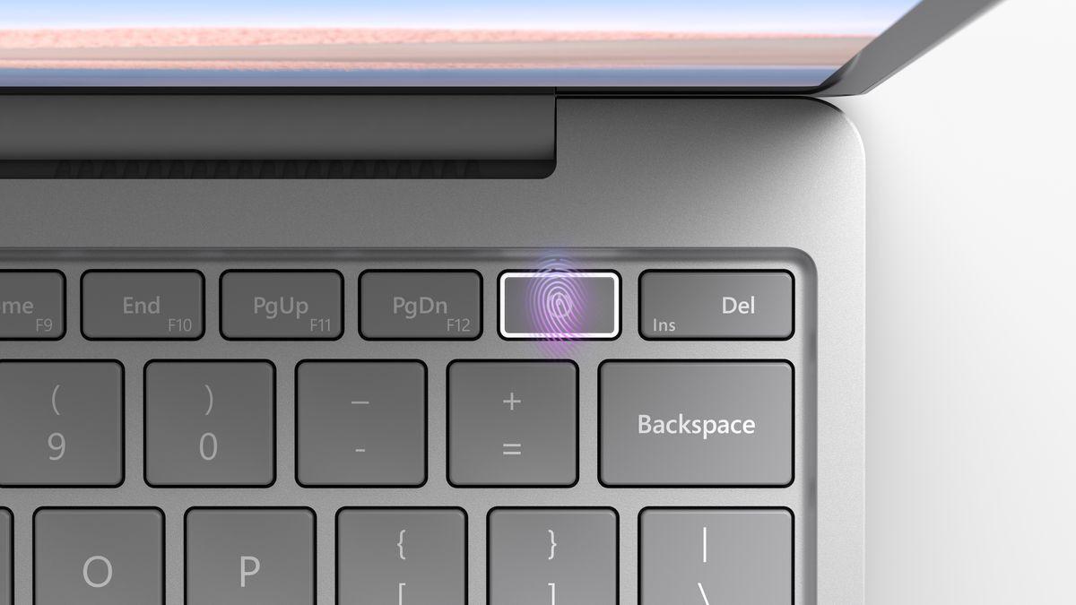 Cài đặt vân tay trên máy Microsoft Surface 1