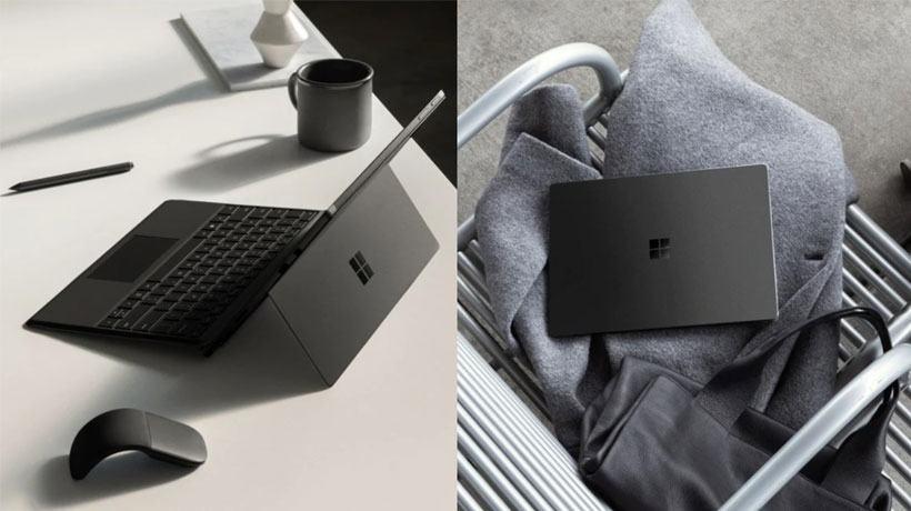 Surface Laptop 2 có loa được giấu bên dưới bàn phím