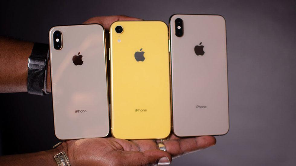 Camera sau của: iPhone XR, iPhone XS và iPhone XS Max