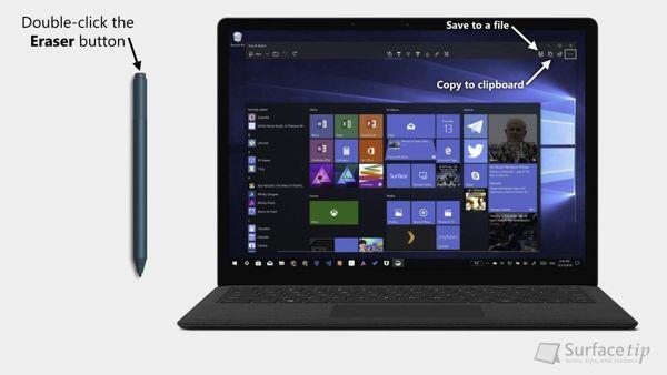 [MẸO] Hướng dẫn chụp màn hình Surface Laptop 2 5