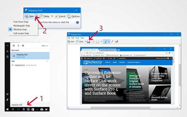 [MẸO] Hướng dẫn chụp màn hình Surface Laptop 2 7