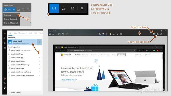 [MẸO] Hướng dẫn chụp màn hình Surface Laptop 2 9