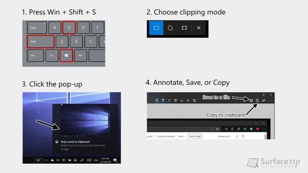 [MẸO] Hướng dẫn chụp màn hình Surface Laptop 2 11