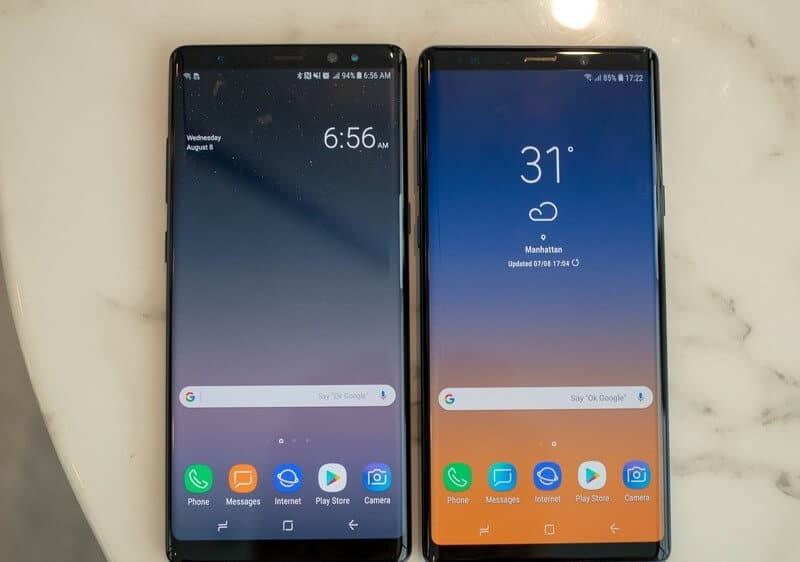 Galaxy Note 8 VS Note 9 SmartPhone nào sẽ thắng ? 7