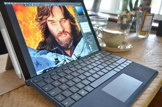 máy Surface Pro 2017