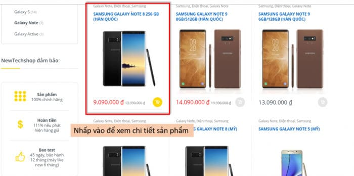 mua hàng online tại newtechshop