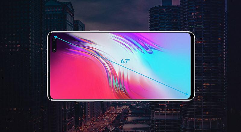 Việc sở hữu màn hình 6.7 inch đem đến cho người dùng trải nghiệm giải trí tuyệt vời