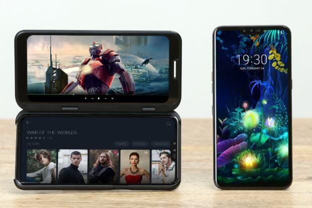 Trên tay LG Dual Screen phụ kiện khiến LG V50 ThinQ 9