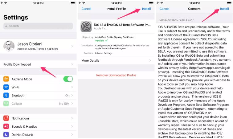 Cập nhật iOS 13, iPadOS, MacOS Catalina có sẵn để thử nghiệm beta công khai 5