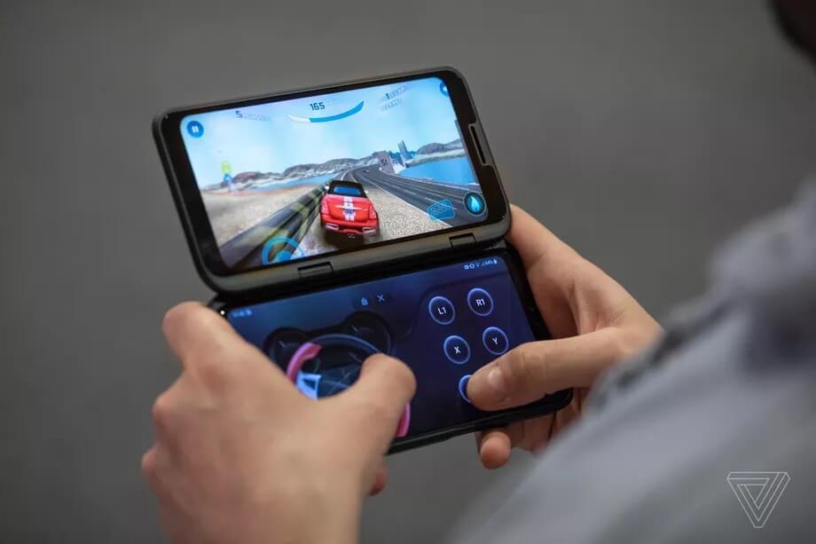 Trên tay LG Dual Screen phụ kiện khiến LG V50 ThinQ 8