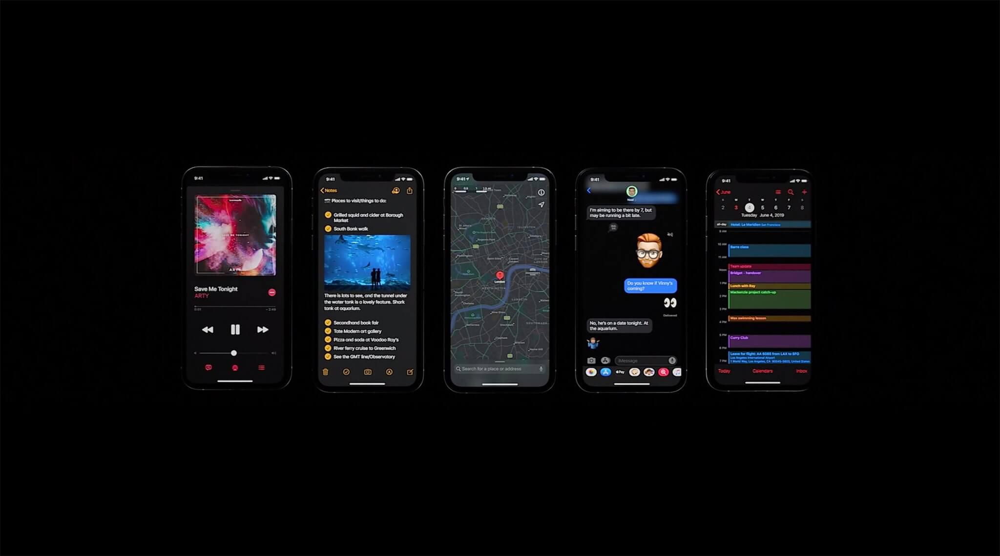IOS 13 chính thức ra mắt 1