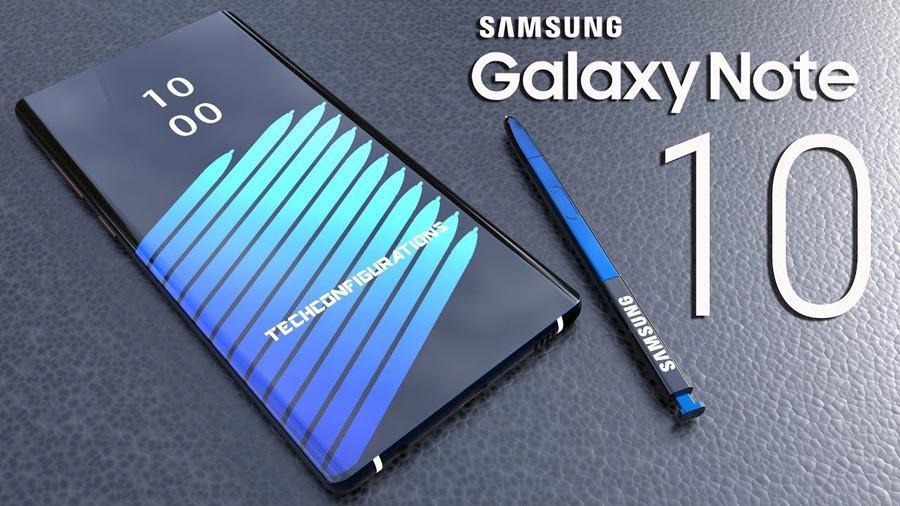 thông tin mới nhất về samsung galaxy note 10