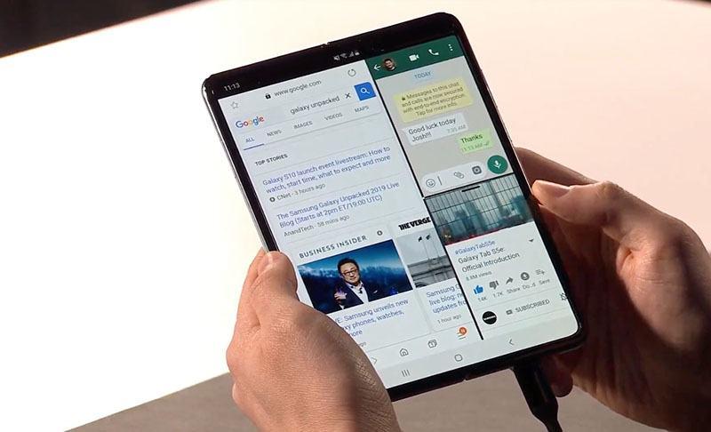 Đây là cách Samsung sửa lỗi cho smartphone màn hình gập Galaxy Fold 3