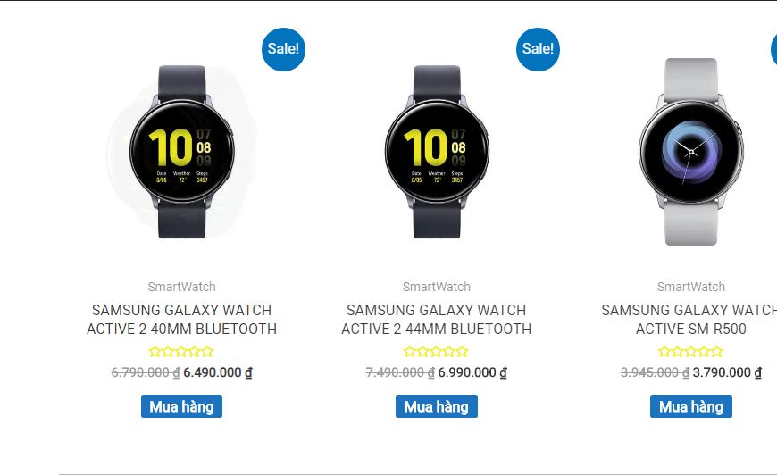 3 tiêu chí hàng đầu khi lựa chọn nơi mua đồng hồ Galaxy Watch Active 2 12