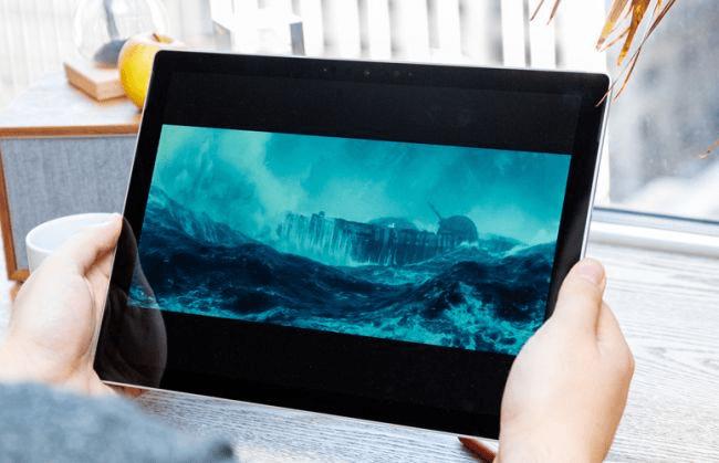 Hiển thị của Surface Pro 7 - nguồn __ Future