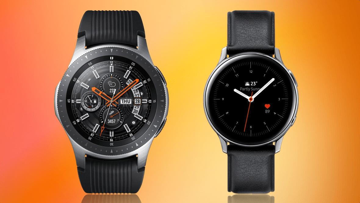Thiết kế của Samsung Galaxy Watch và Samsung Galaxy Watch Active 2